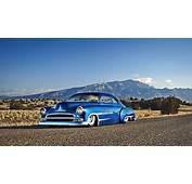 Classic Vintage Muscle Car Blue  HDWallpaperFX