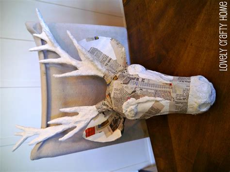 How To Make A Paper Mache Stag - 171 187 187 buy paper mache reindeer