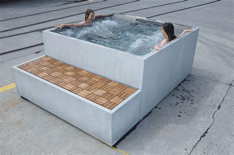 vasche idromassaggio whirlpool dade design beton whirlpool concrete