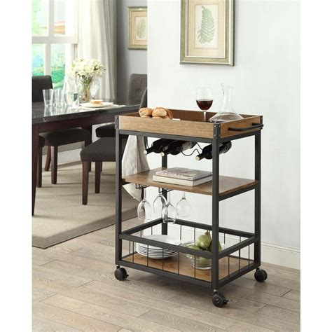 black and brown home decor linon home decor austin black and brown kitchen cart