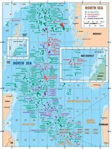 map of sea gas and condensate fields in the