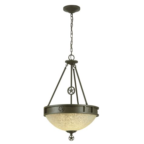 Portfolio Pendant Lighting Shop Portfolio Thoroughbred 1 19 5 In W Bronze Hardwired Standard Pendant Light With Frosted