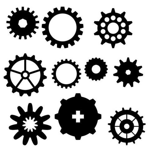printable gear stencils more gears baby pinterest stencils tandwielen en