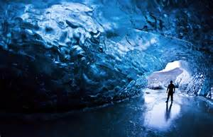 Crystal Cave Iceland by Crystal Cave Skaftafell Iceland Travel Pinterest