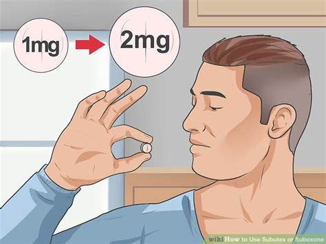 How Do You Detox From Subutex by How To Use Subutex Or Suboxone With Pictures Wikihow