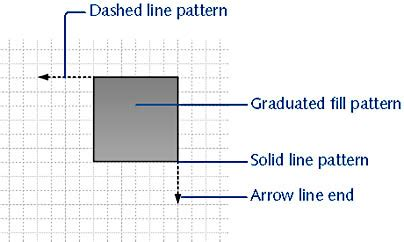 line pattern in visio quickly formatting shapes and diagrams microsoft visio