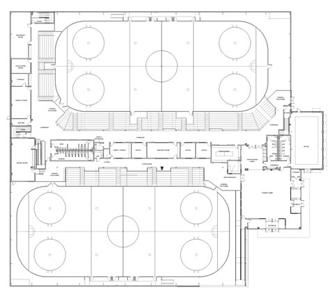 arena floor plan image gallery hockey arena layout