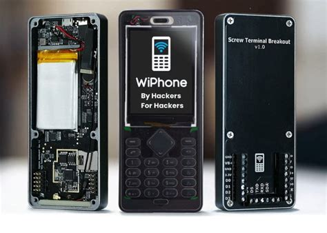 voip mobile wiphone voip mobile phone for hackers and makers geeky