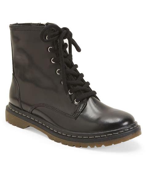 comfort boots womens aeropostale womens lace up biker comfort boots ebay