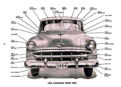1929 1954 chevrolet master parts accessories catalog