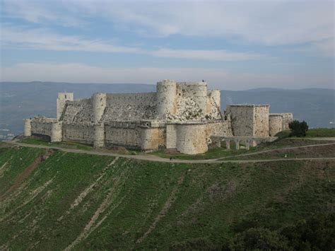 krak des chevaliers the knights templar landmarks and castles still standing