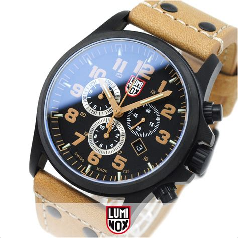Luminox Tyrex Brown Coulor luminox atacama field chronograph 1945 brown day date leather brand new ebay