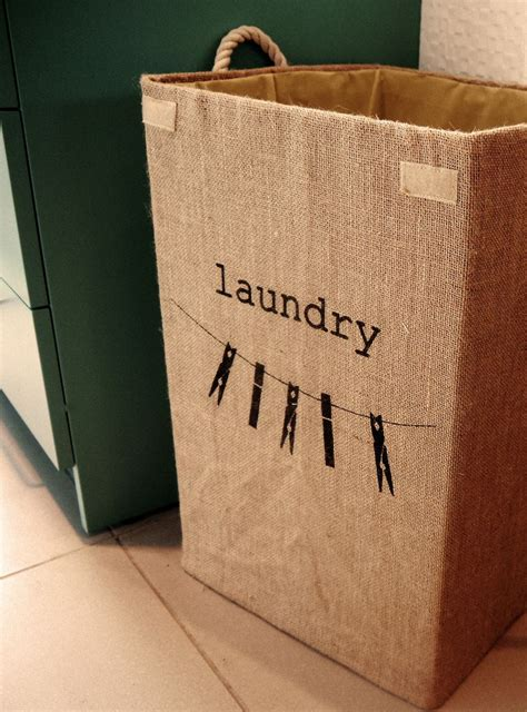 jute laundry hamper next home style cute laundry
