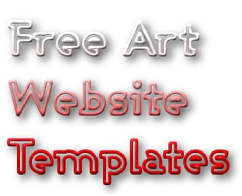 templates for word art free art templates for designing an online portfolio