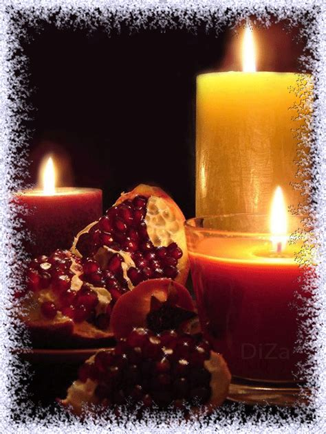 touching hearts candles gif