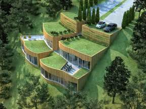Green Design Ideas Eco Green Rupe House Architecture Design Sustainable