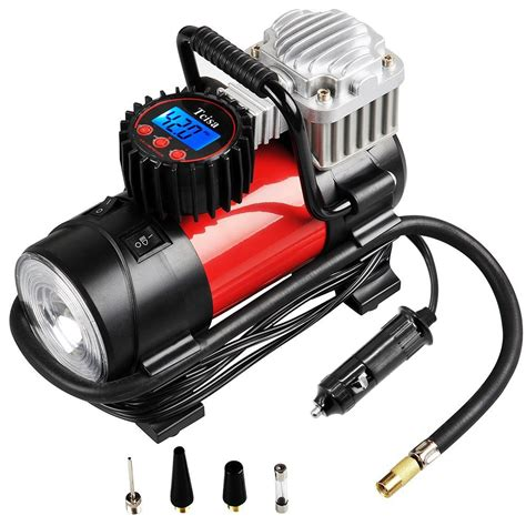 portable air compressor 150 psi tcisa 12v 140w auto digital car tire ebay