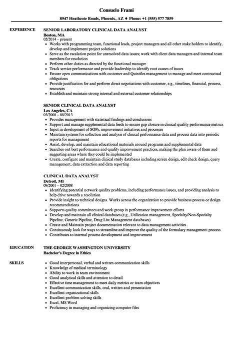 Disaster Recovery Analyst Sle Resume by Disaster Recovery Analyst Sle Resume Crop Consultant Sle Resume
