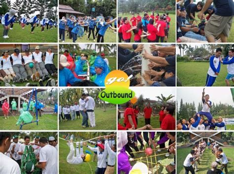 paket 1 day outbound company outing family