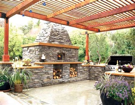 Kitchen Patio Ideas Outdoor Kitchens Escapes More