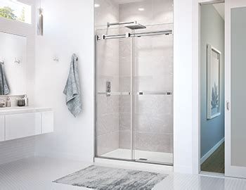 Max Shower Doors Dual Door By Maax