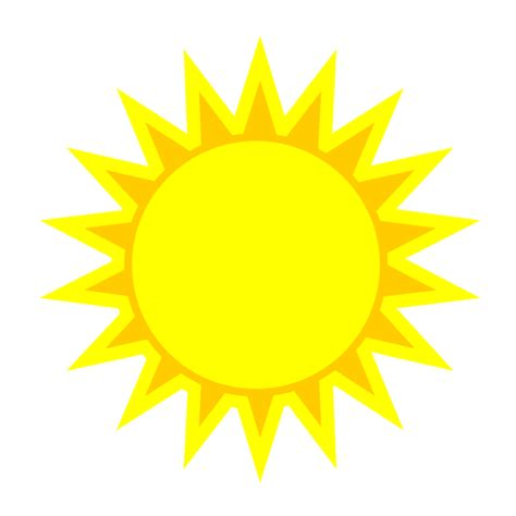 Clipart Pictures Of The Sun image of the sun clip clipart best