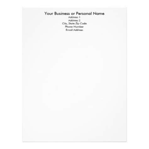 best photos of personal letterhead templates letterhead