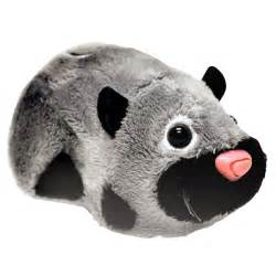 zhu zhu pet supplies hamster spottie black gray zhu zhu