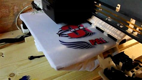 home made t shirt printer