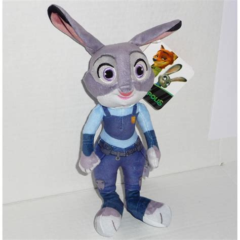 zootropolis peluche 20cm choose your character original disney nick judy finnick elefante