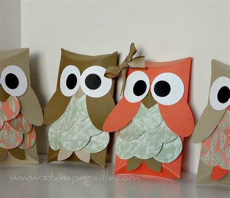 How To Make A Paper Bag Owl - owl paper bags spooky
