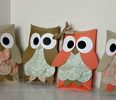 Paper Bag Owl Craft - owl paper bags spooky
