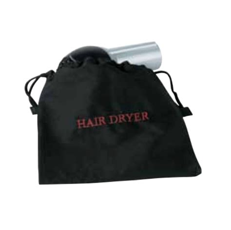 Hair Dryer Bag Black hair dryer bag black slx hospitality