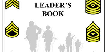 leaders book template army leader book