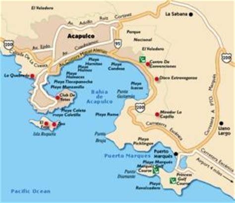 map of mexico acapulco mexico city acapulco travel