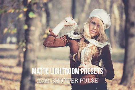 Light Room Presets by Matte Lightroom Presets Shutter Pulse