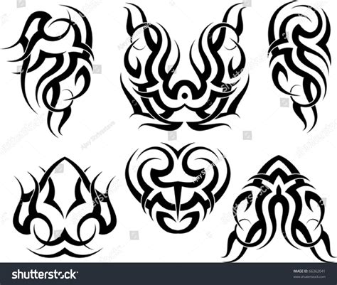 tattoo on arm vector tattoo arm tribal stock vector 66362041 shutterstock