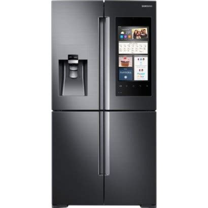 Cashing Housing Samsung E1085 rf28m9580sg samsung family hub 35 3 4 quot 27 9 cu ft refrigerator black stainless steel