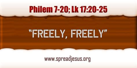 catholic homily freely freely daily bible quotesdaily bible reaingsbible stories