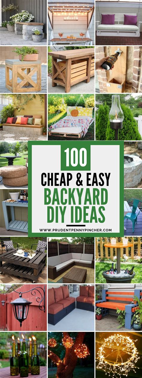 backyard diy 100 cheap and easy diy backyard ideas prudent penny pincher