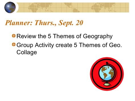 5 themes of geography illustration 5 themes of geography