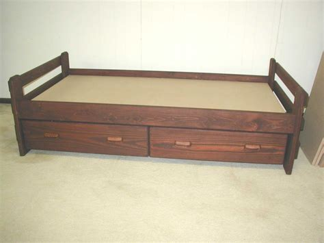 twin bed with drawers storage drawers beds with storage drawers