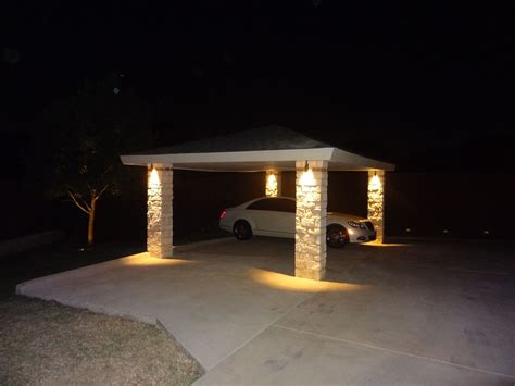 nite fx landscape lighting carport led lighting arriving home at one of nite fx lightings resent customer is now