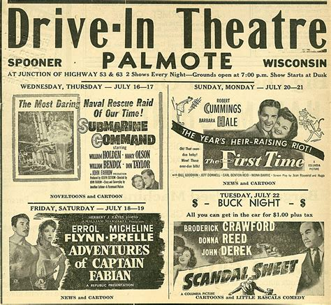 drive newspaper template a rock all show drive in newspaper ads anti