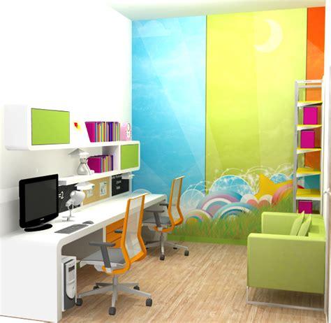 desain interior meja belajar desain interior ruang belajar yang nyaman rumah