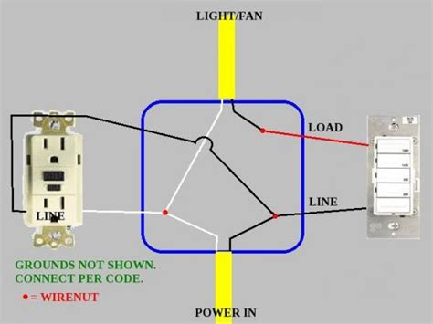 110v wiring diagram neutral ground get free image