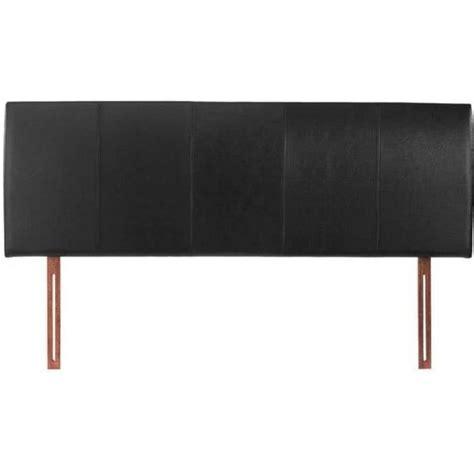 black faux leather headboard buy black double 4ft6 headboard faux leather hamburg from