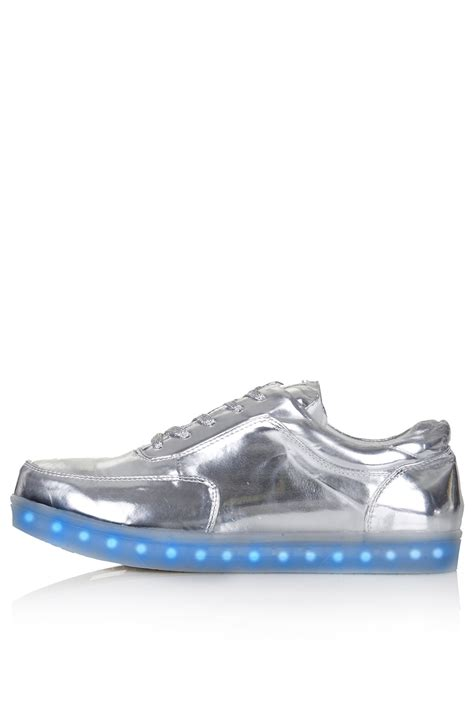 topshop light up sneakers trance light up trainers by topshop x glow flats shoes