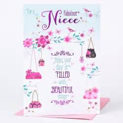 free niece birthday cards birthday card niece beautiful things only 89p