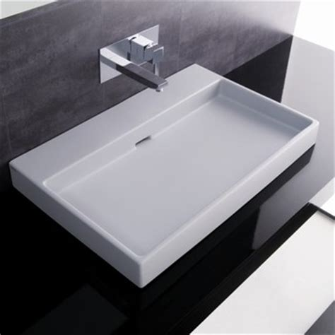 designer bathroom sink 70 sink by ws bath collections modern bathroom